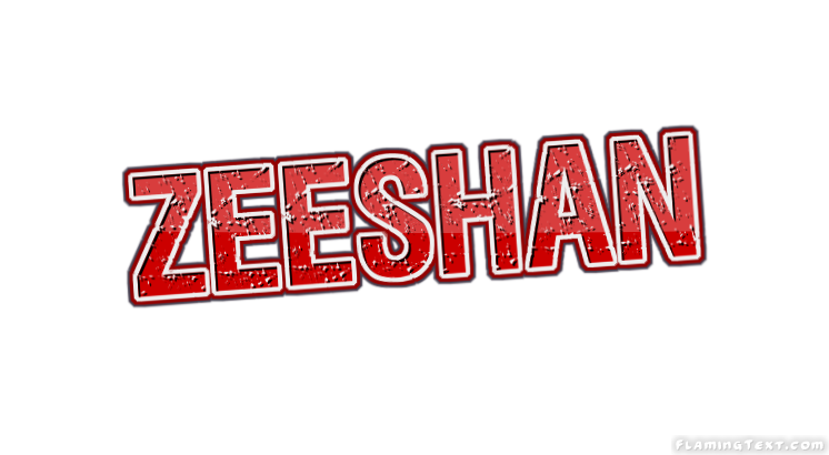Zeeshan Logo Free Name Design Tool From Flaming Text