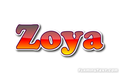 zoya logo free name design tool from flaming text