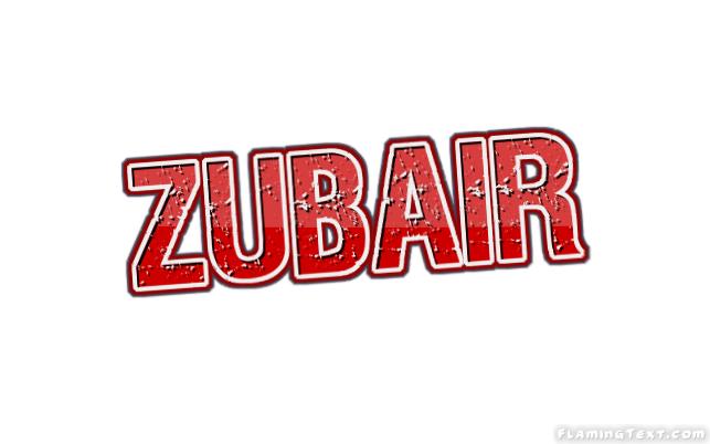 Zubair First Name Logo