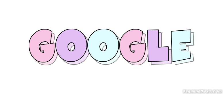 google Logo | Free Logo Design Tool from Flaming Text