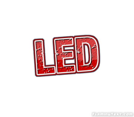 led Logo | Free Logo Design Tool from Flaming Text